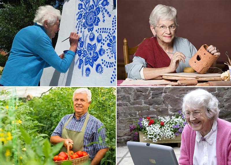 Хобби для пожилых или чем занять себя на пенсии